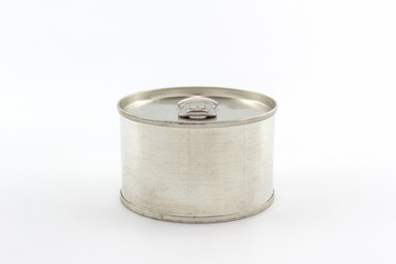 Aluminum tin can.