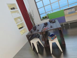 Modern design or art studio