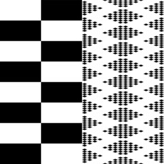 Chess board pattern