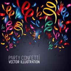 Party Confetti Vector