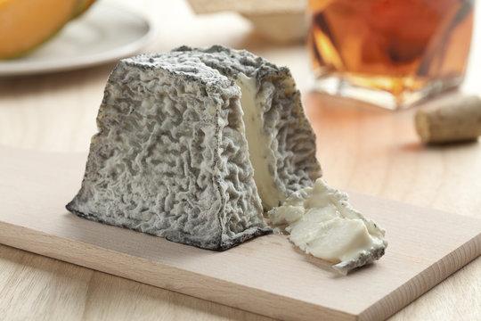 Fresh Valencay cheese