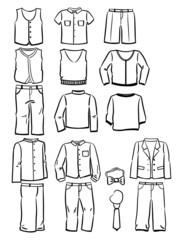Contours school clothes for boys