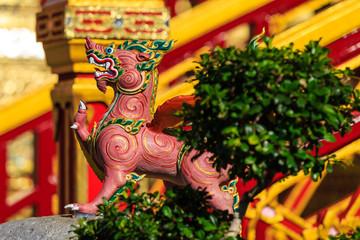 Himmapan creature at Royal Cremation Structure , Bangkok in Thai