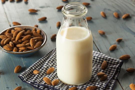 Organic White Almond Milk