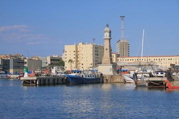 Old port (Port Vell). Barcelona, Spain
