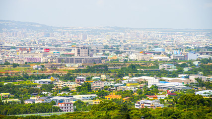 view of the city in  Taiwan