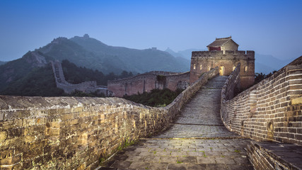 Foto op Canvas Chinese Muur Great Wall of China