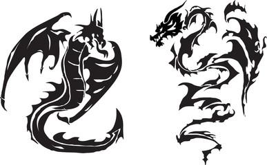 Dragonsof a  tattoo
