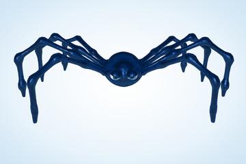 Blue Toon Spider