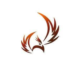 bird logo,phoenix flying,wings icon symbol