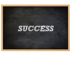 SUCCESS - handwritten concept chalkboard