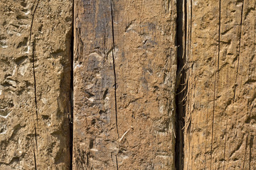 Old vintage damaged wood background texture