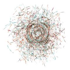 Grunge background. Vector illustration.