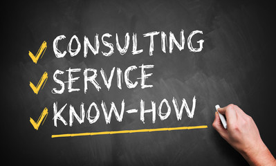 consulting, service, know-how