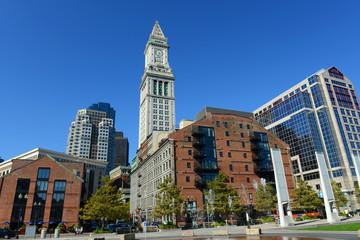 Boston Custom House in Financial District, Boston, Massachusetts