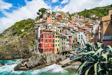 Fototapeta Riomaggiore, Cinque Terre National Park, Liguria, Italy