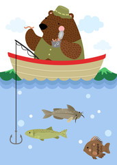 Bear Fishing