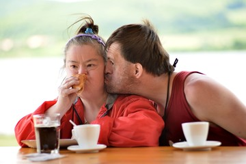 down syndrome love couple