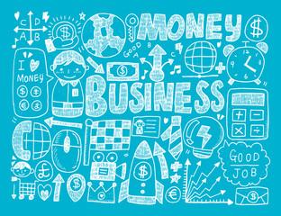 doodle business background