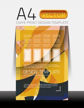 Vector Modern Flyer Design