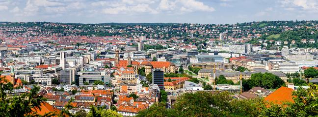 Panorama von Stuttgart