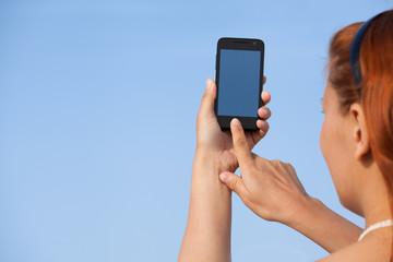 photoshooting on smartphone