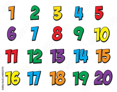 новости, цифры на шкафчики 1-20 распечатать и вырезать проверка