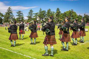 Highland Games #3 - Piper band, Scotland