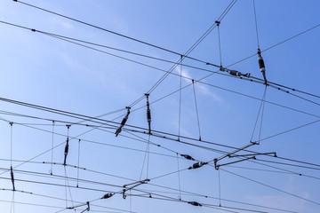 Stromleitung Hochspannung