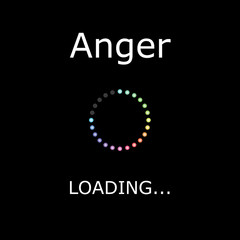 LOADING Illustration - Anger