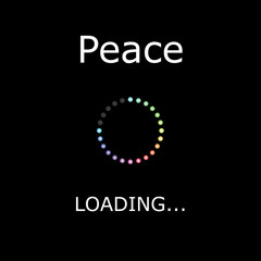 LOADING Illustration - Peace