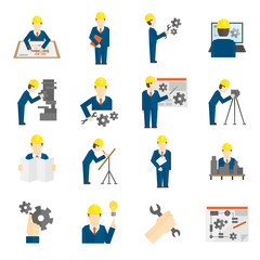 Set of Engineer Icons