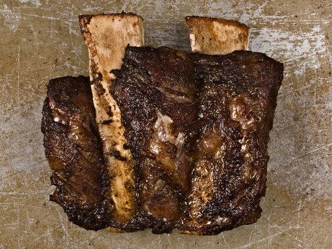 rustic bbq beef short rib