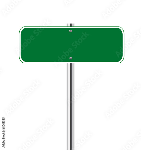quotblank green traffic signquot stock image and royaltyfree