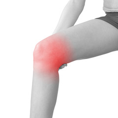 Acute pain in a calft.