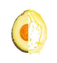 Avocado splash