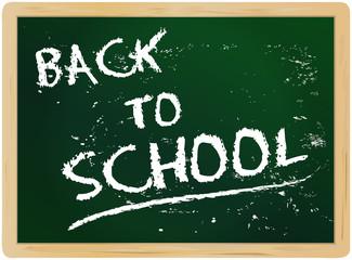 back to school, blackboard, vector