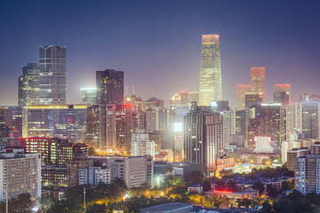 Beijing, China Financial District