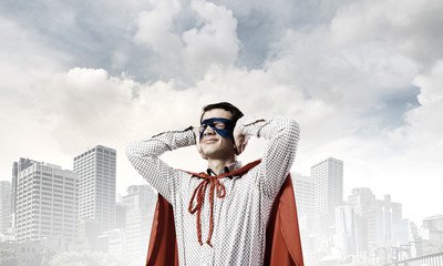 Frustrated superman