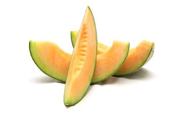 Wall Mural - cantaloupe melon slices