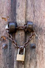 lock in old door