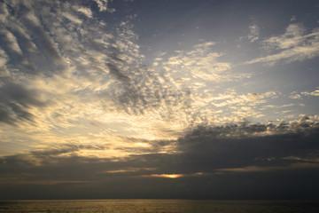Sunset on the Andaman Sea, Cape Promthep