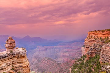 Grand Canyon Monsoon Storm