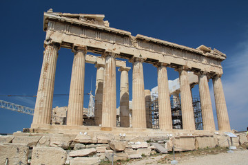 The Parthenon, The Acropolis of Athens, Greece