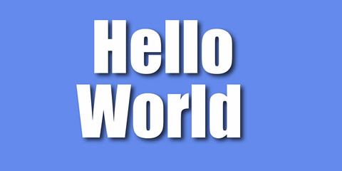 Hello World - Wallpaper