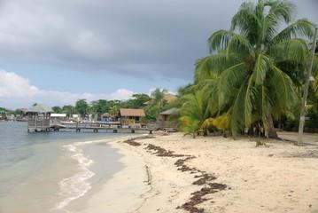 Plage au Honduras