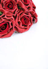 red roses for greetings