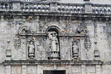 decoration of Cathedral of Santiago de Compostela