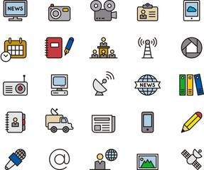 Journalism & Mass Media icons