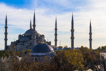 Sultan Ahmed Mosque, Istanbul Turkey